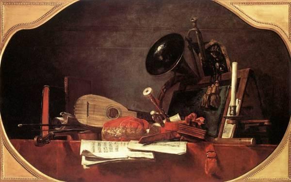 Chardin Attributes of Music